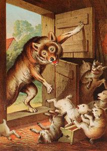 オオカミと七ひきのこやぎ